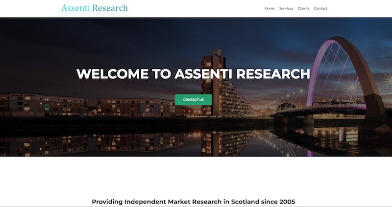 Assenti Website
